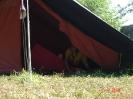 Kraja zastave PP na taboru čete