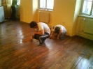Pleskanje skavtske sobe!